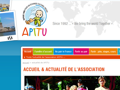 APITU : Association - agence au pair en Bretagne